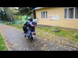 Коля+Аркаша (стунтеры, закрытие скутер сезона 2013)
